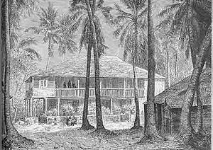 Habitation à Saint-Domingue